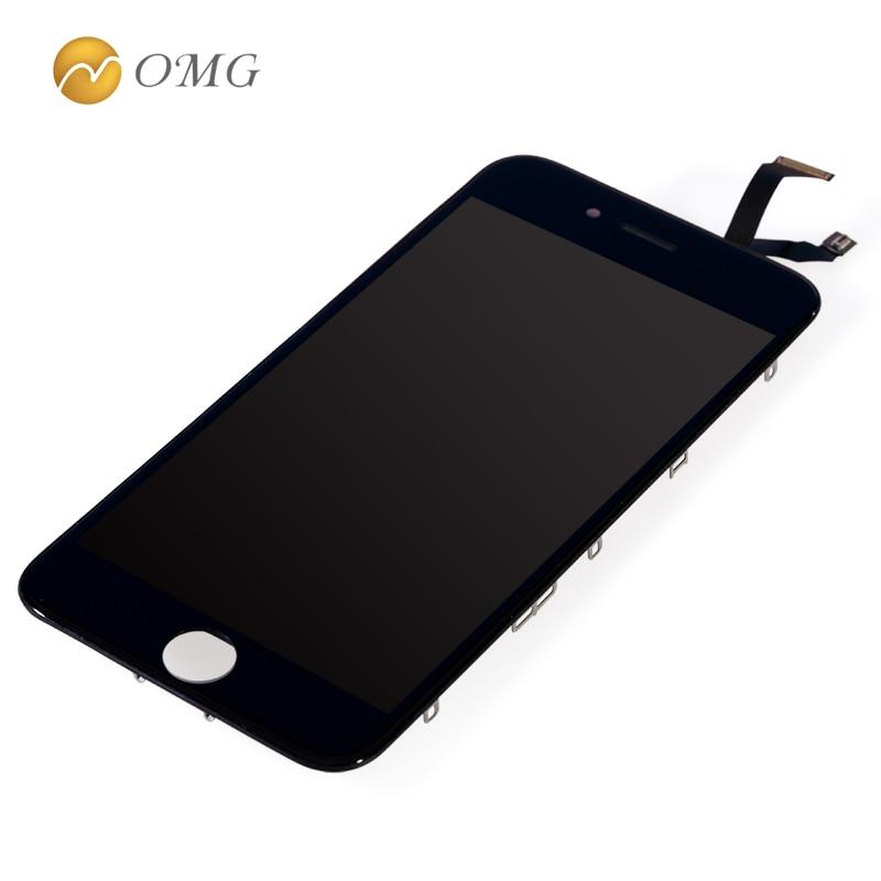 Omg teléfono móvil lcd para iphone 6s 6 s 4.7 pulgadas lcd display asamblea con