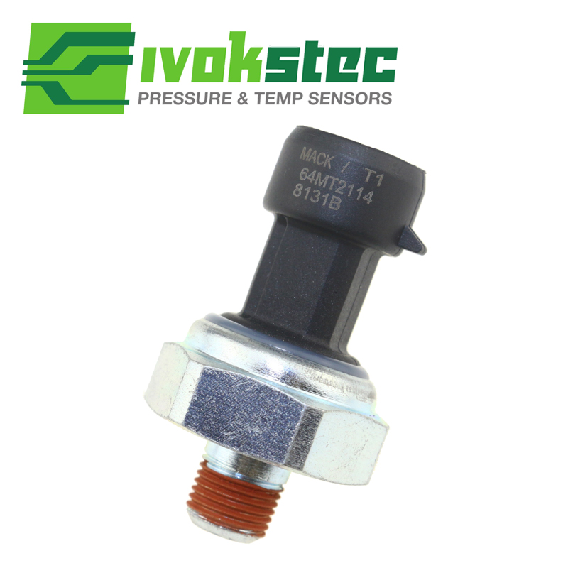 US $27 88 15% OFF|Ceramic Oil Pressure Sensor Switch Sender For Mack  Kenworth Peterbilt Caterpillar 64MT2114 64MT286 Ceramic Chip = High  quality-in