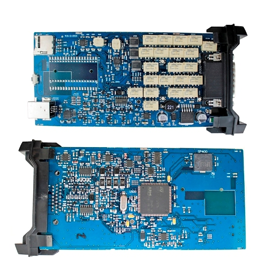 ФОТО Single board A+ V2015 R3  CDP TCS PRO CAR&TRUCK TCS For no Bluetooth  NEC relays  in box
