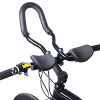 High Quality Bicycle Mountain Road Bike Alloy Triathlon Arm Rest Handlebar Aerobar tt Rest Bar Vice Handlebar Aluminium Bike
