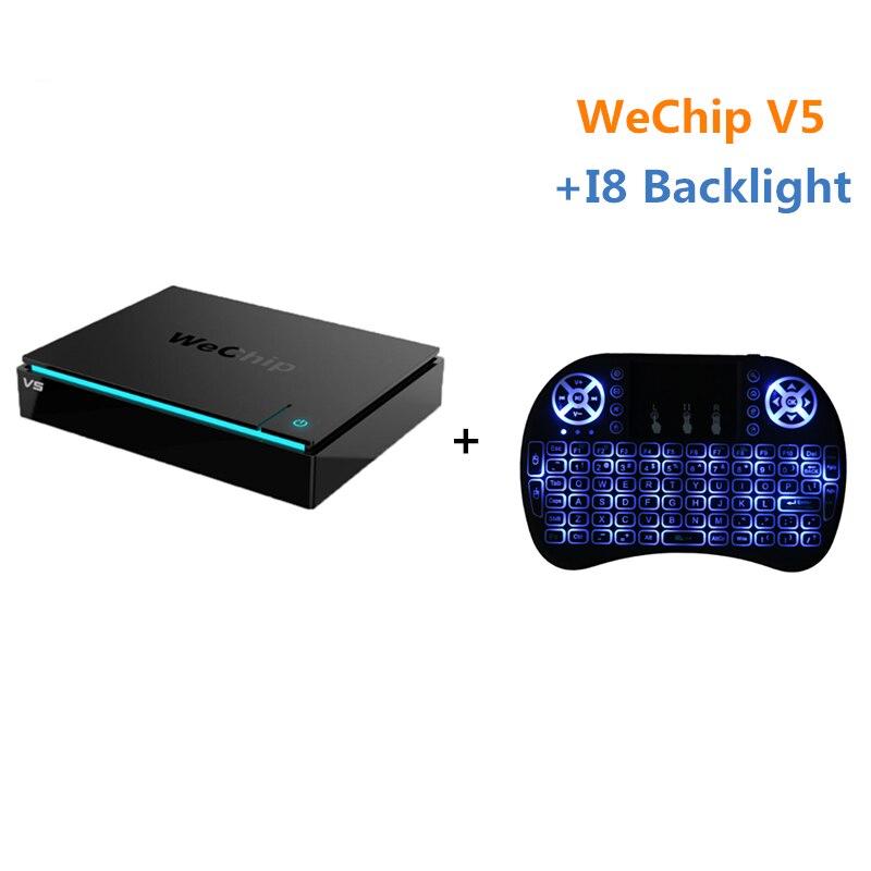Original WeChip V5 KDPlayer 16.1 android tv box 6.0 Amlogic S905X quad-core cortex-A53 2GB/16GB Dual Wifi Media Player PK x96 2016 new original xiaomi tv box 3 s pro amlogic s905 cortex a53 2 0ghz 1gb ddr3 4gb emmc5 0 android 5 0 4k 3840 x 2160