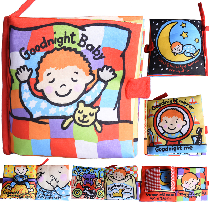activity book cartoon animal soft baby educational toy cloth book