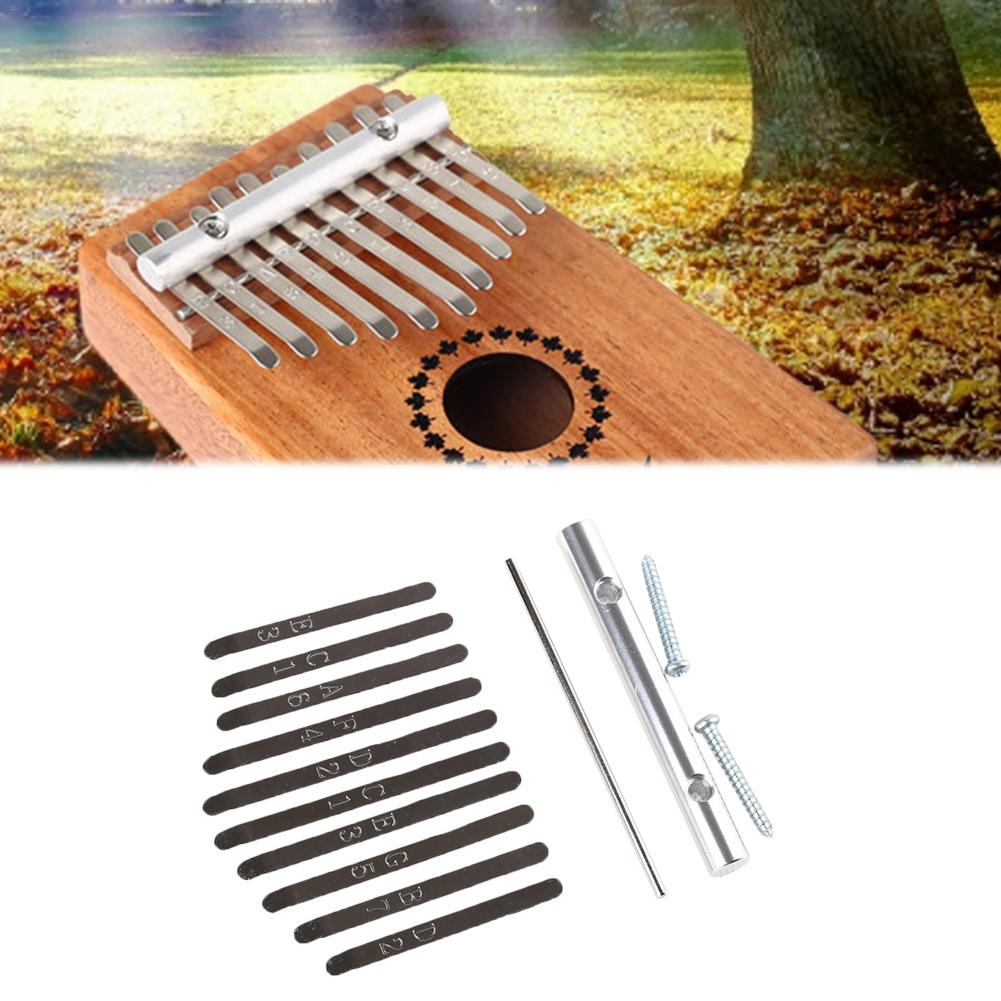 Free Shipping 10-key Thumb Piano Thumb Piano C Children Home Education Kalimba 10 Buttons African Pocket Wooden Instrument