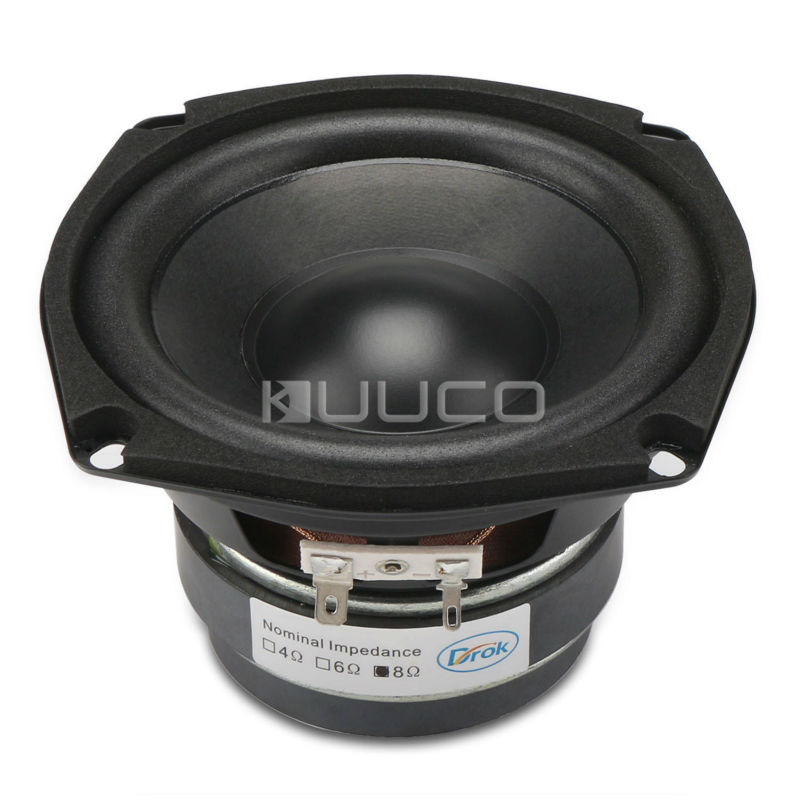 4.5-inch 8 ohms Subwoofer Bass Speaker/Shocking Bass Loudspeaker 40W Woofer Speaker Double magnetic Speaker for DIY speakers using realistic mathematics education to design learning activities