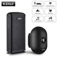 KERUI DW9 Wireless Driveway Security Alarm Waterproof PIR Motion Detector Driveway Alarm Garage Welcome Burglar Alarm System