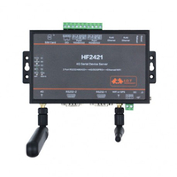 HF2421 4G двойной Порты и разъёмы Серийный Сервер RS232 RS485 RS422 к Ethernet Wi Fi 4G 3g GPRS сети конвертер