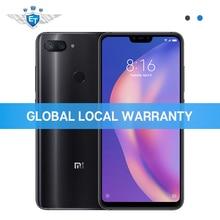 Xiao mi mi 8 Lite 6 GB 128 GB küresel SÜRÜM Cep Telefonu Snapdragon 660 6.26 ''tam ekran 24MP ön Kamera Çift Arka Kamera CE