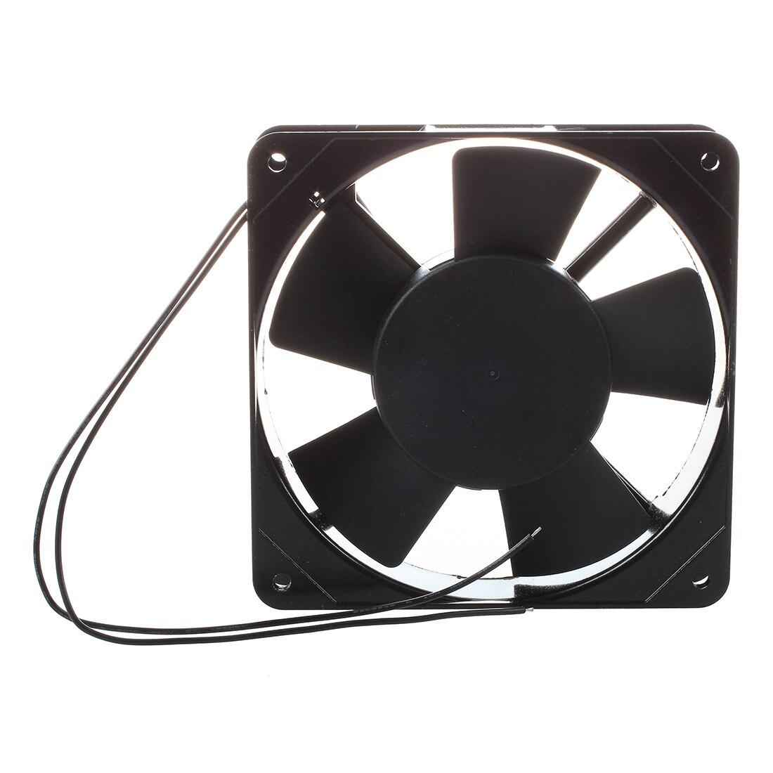 AC 220 V-240 V 120x120x25mm Ventilateur pour PC Noir