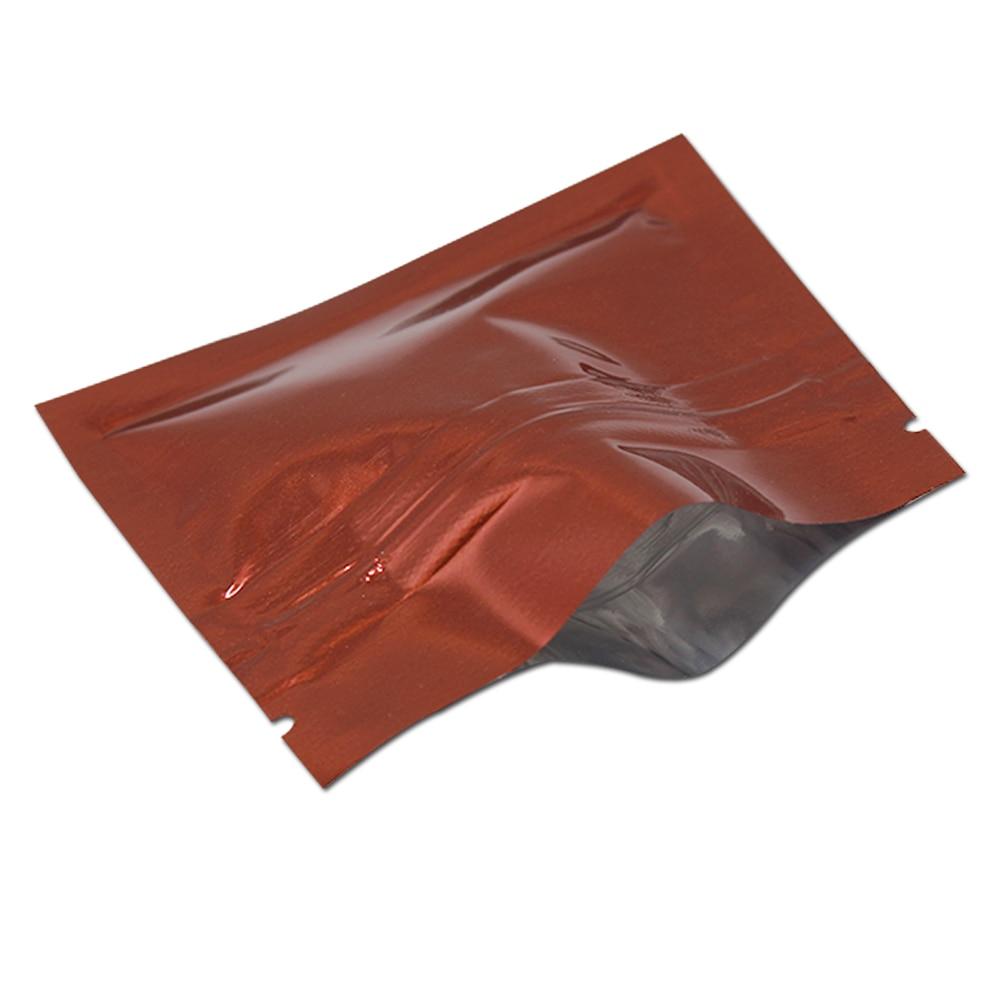200 Pcs / Lot 7.5 * 6cm aliuminio folija Zip Lock Pakuotės maišelis - Organizavimas ir saugojimas namuose - Nuotrauka 5