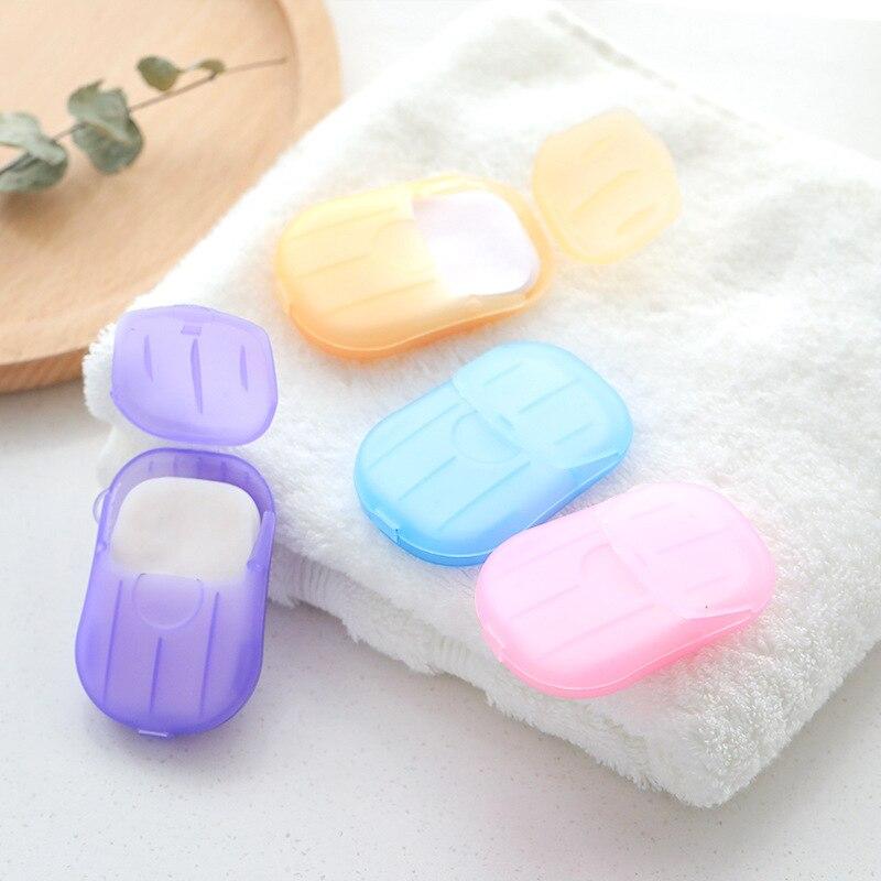 Babypflege 2 Teile/satz Einweg Boxed Mini Seife Papier Baby Reise Tragbare Hand Waschen Box Duft 20 Blätter Eine Box Für Kinder Erwachsene
