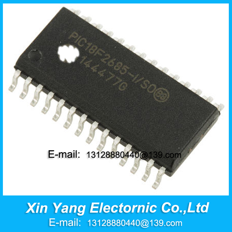 XIN YANG Electronic NEW ORIGINAL PIC18F2685 I SO PIC18F2685 18F2685 I SO SOP Free shipping