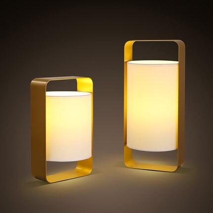 Современные светодиодные Настольные лампы Nordic Спальня кровать стороне чтения настольн ...