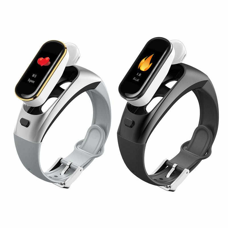 H109 Talkband Smart Bracelet Wireless Bluetooth Call Headset for Huawei Samsung Phone With Heart Rate Monitor Talk Band PK B5