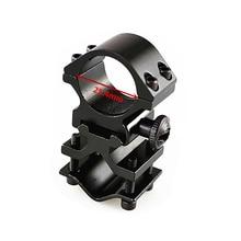 FIRECLUB Охотничья винтовка кронштейн для оптического прицела держатель Поддержка прицела Кольцо фонарик клип 25,4 мм кольцо Weaverer Rail