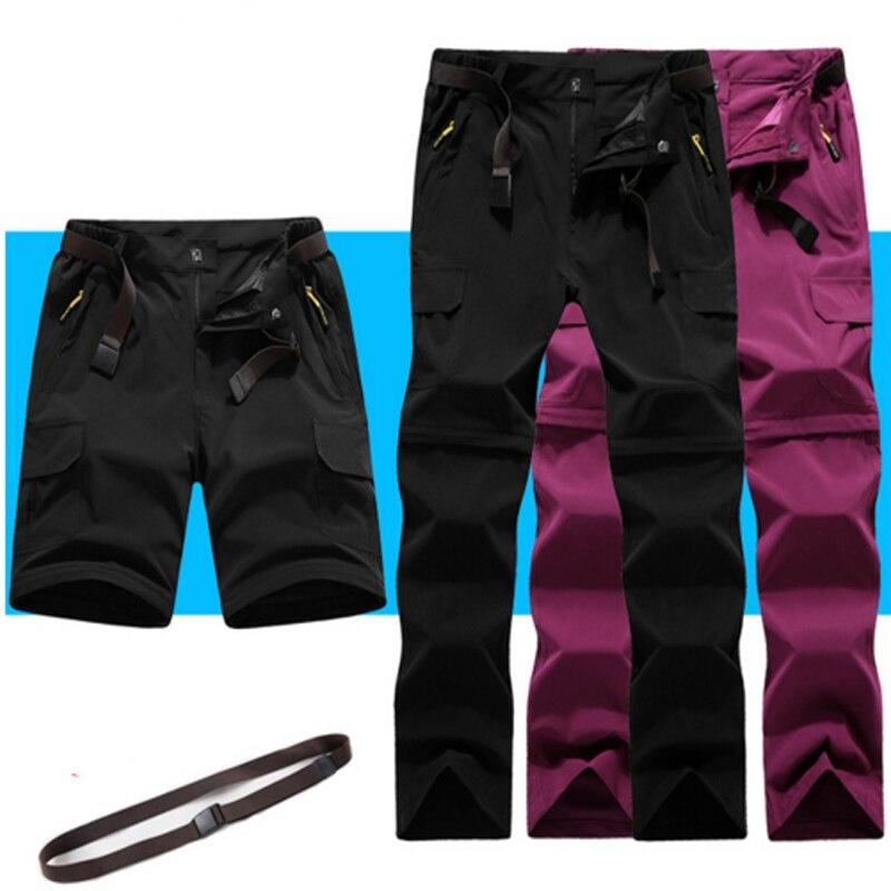 Hiking Men Summer Fishing Cycling 2018 New Trekking Travel Climbing Pants Women Bike Outdoor Anti-UV Breathable Trousers Camping