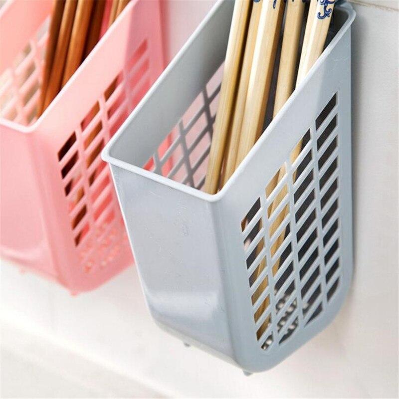 HOMETREE Simple Chopsticks Tube Tableware Storage Rack Drain Rack Shovel  Spoon Bucket Knife Fork Storage Kitchen Utensils H733 In Colanders U0026  Strainers From ...