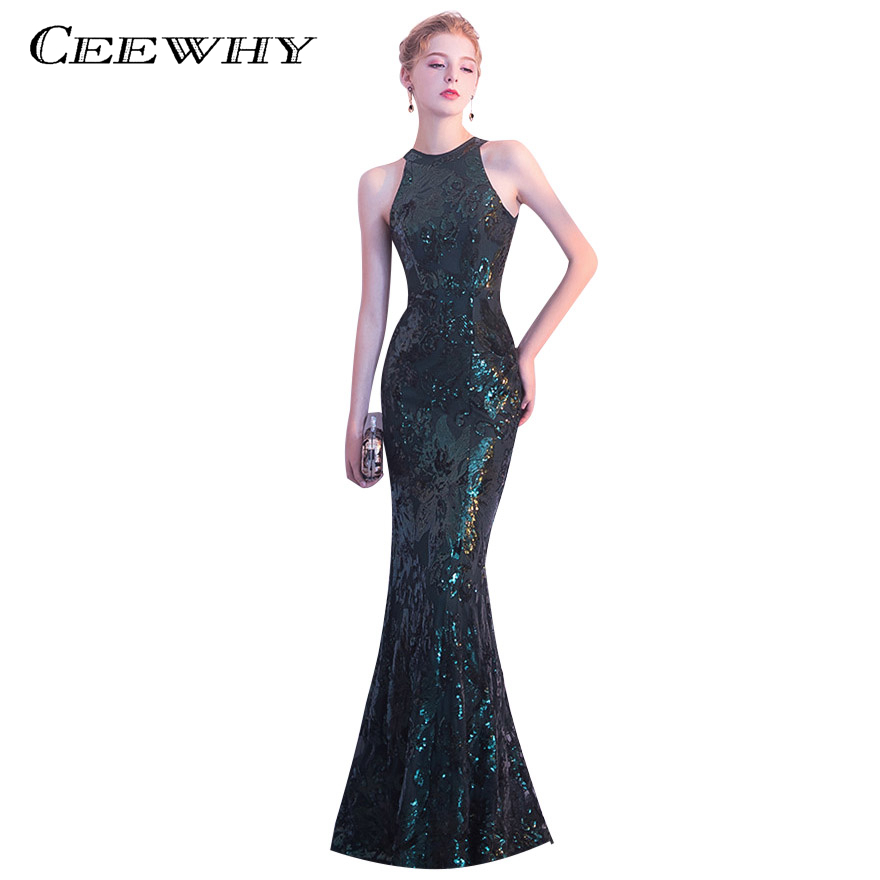 CEEWHY Asymmetrical Short Sleeve Ball Gown Evening Dresses with ...