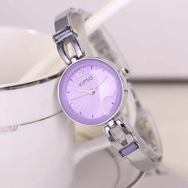 Kimio Top Brand Luxury Women Quartz-watch Ladies Stainless Steel Ladies Analog Bracelet Watches Montre Femme Relogio Feminino xinge top brand luxury women watches silver stainless steel dress quartz clock simple bracelet watch relogio feminino