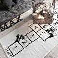 Baby Teppich Kinder Mädchen Aktivität Gym Playmat Zubehör Zimmer Schaum Matte Teppich baby Hopscotch Kind Abenteuer Junge Teppich Zimmer Decke