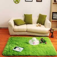 Neue Nordic Pile Teppich Teppich für Wohnzimmer Große Größe Anti-Slip Schlafzimmer Weiche Teppiche Hause textil Matten tapete para sala 100*200