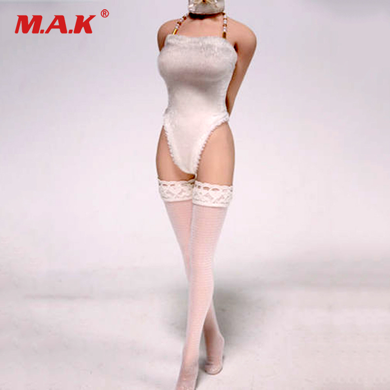 customs female clothes 1/6 scale woman girl lady one piece white underwear lingerie swimwear for 12 doll model clothing setcustoms female clothes 1/6 scale woman girl lady one piece white underwear lingerie swimwear for 12 doll model clothing set