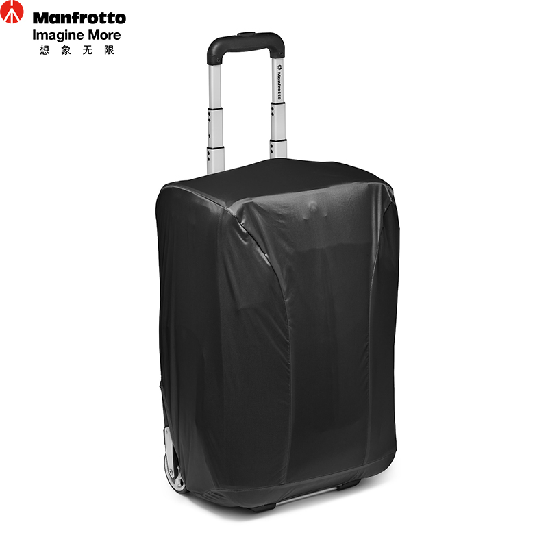 Manfrotto Camera Roller Bag Portable Trolley Large Capacity Photography Bag Functional Black Trolley Case For DSLR Video Camera