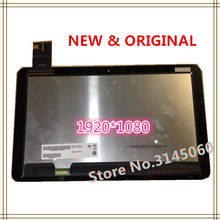 "12.5 "" For ASUS T3Chi T300Chi T3 CHI T300 CHI LCD Display Touch Screen Assembly B125HAN01.0 LQ125T1JX03C(China)"