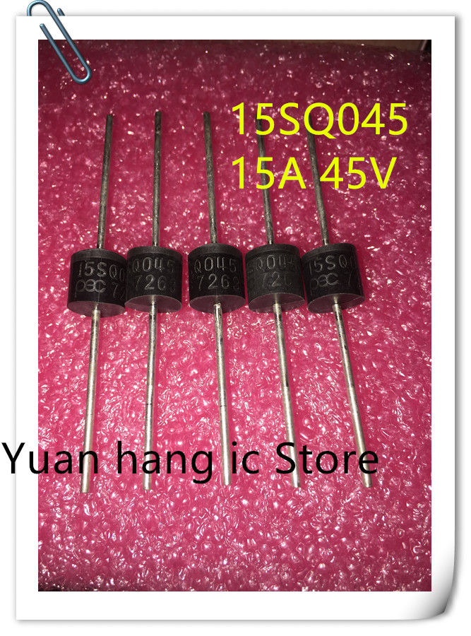 20PCS/LOT 15SQ045 15A 45V Schottky Rectifiers Diode, Brand New R-6