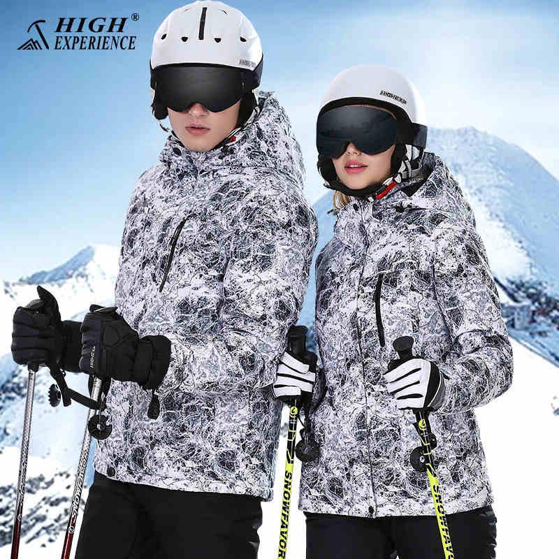 Veste de Ski homme imperméable hiver survêtement femme veste de snowboard femme pour homme veste de Ski femme manteau de Sport extérieur