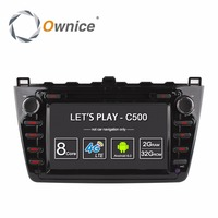 Octa Core 2GB RAM Android 6 0 Car DVD Player For Mazda 6 Ruiyi Ultra 2008