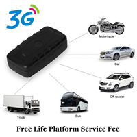 Gps Tracker Follow Me Online Kids Car Location Track App 10000mAh Track Container with Delay and Free Life APP