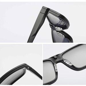 Image 3 - Montura de gafas ópticas para hombre y mujer, con 4 imanes de Clip, gafas de sol polarizadas, montura de gafas para ordenador, YQ333