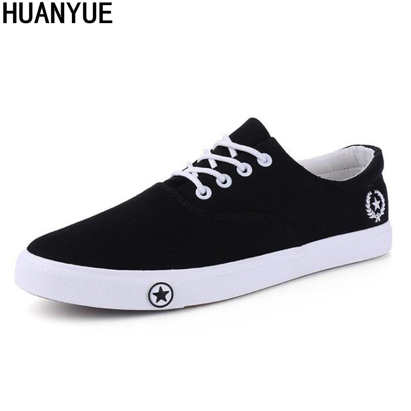 Men Vulcanize Shoes 2019 Man Flats Breathable Mens Fashion Classic Outdoor Shoes Mens Canvas Shoes For Men Zapatos De Hombre