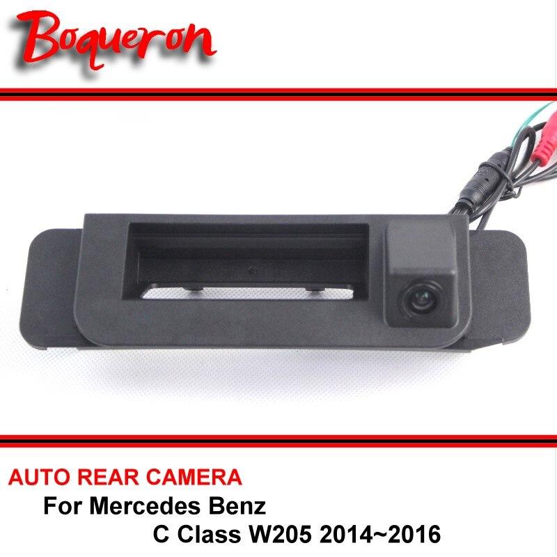 Para Mercedes Benz Clase C W205 2014 2015 2016 Tronco asa HD Vista - Accesorios de interior de coche - foto 1