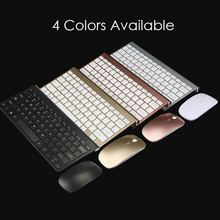 Portable Wireless Keyboard Mouse Set for Mac Notebook Laptop TV Box 2.4Ghz Mini Keyboard Office for IOS Android цена в Москве и Питере