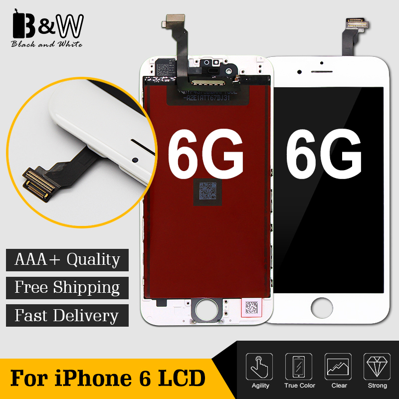 20PCS LOT AAA Quality Quick Shipping For iPhone 6 LCD Display With Touch Screen Digitizer Assembly