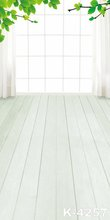 New Arrival ! White Flooring Studio Props Photography Background 5x7ft Children Backgrounds For Photo Studio Window Backdrops