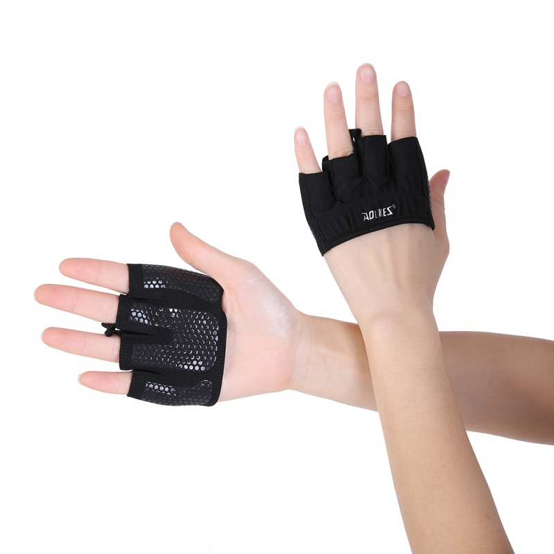 Non-slip Weight Lifting Building Training Gloves Gym Training Wrap Grips Fitness Training Gloves