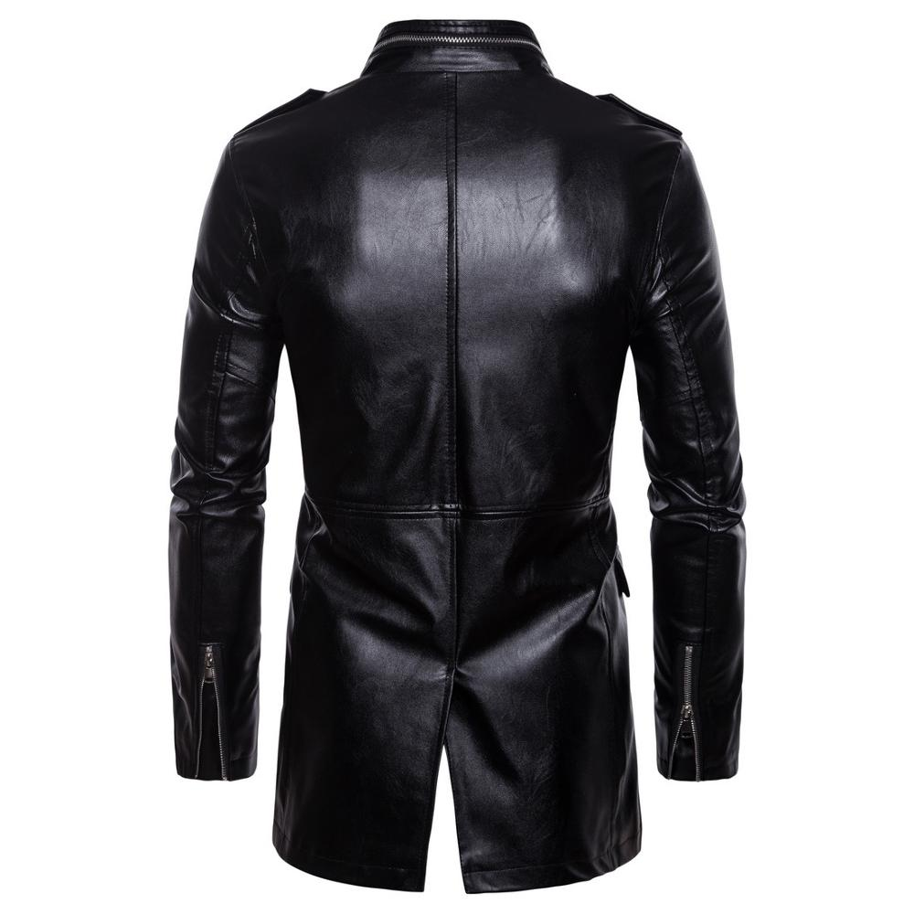 Men Leather Suede Jacket Casual Fashion Zipper Coats Motorcycle PU Leather Mens Loose Bomber Jackets Outerwear Faux Leather Coat in Faux Leather Coats from Men 39 s Clothing