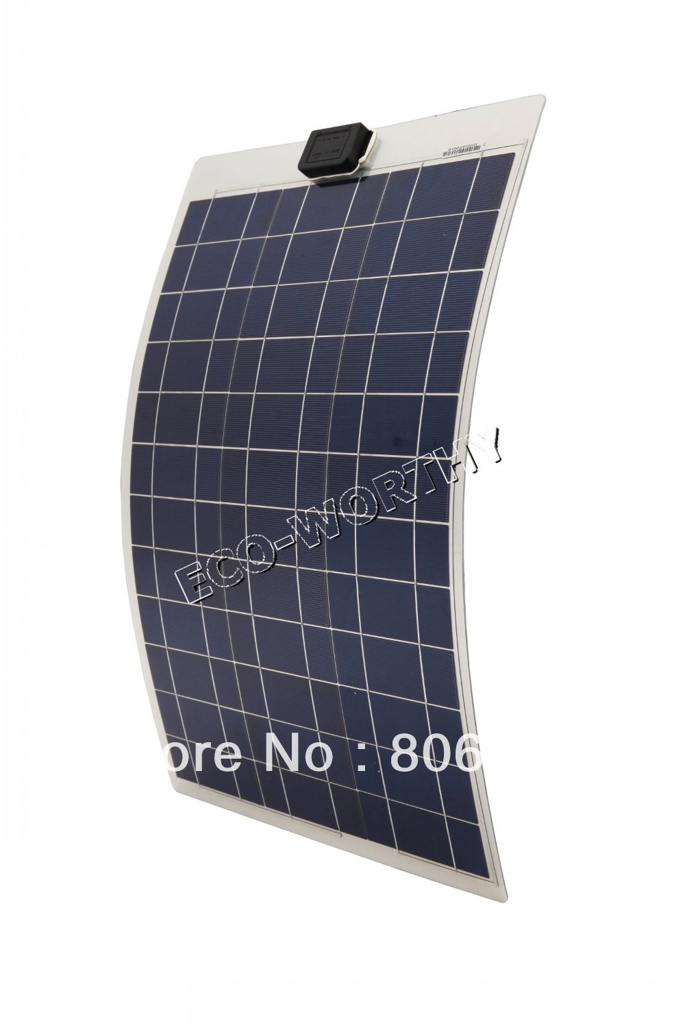50W 12V solar panel ,soalr flexible  panel, poly crystaline cells module For 12v battery,free shipping 550mm 20m diy solar panel eva film sheet for pv cells encapsulation