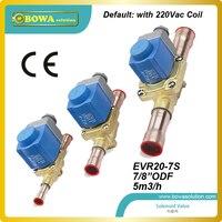 7/8 odf (5m3/ч) больше значение cv электромагнитный клапан с катушкой для brine морозильник блок заменить Паркер электромагнитный клапан