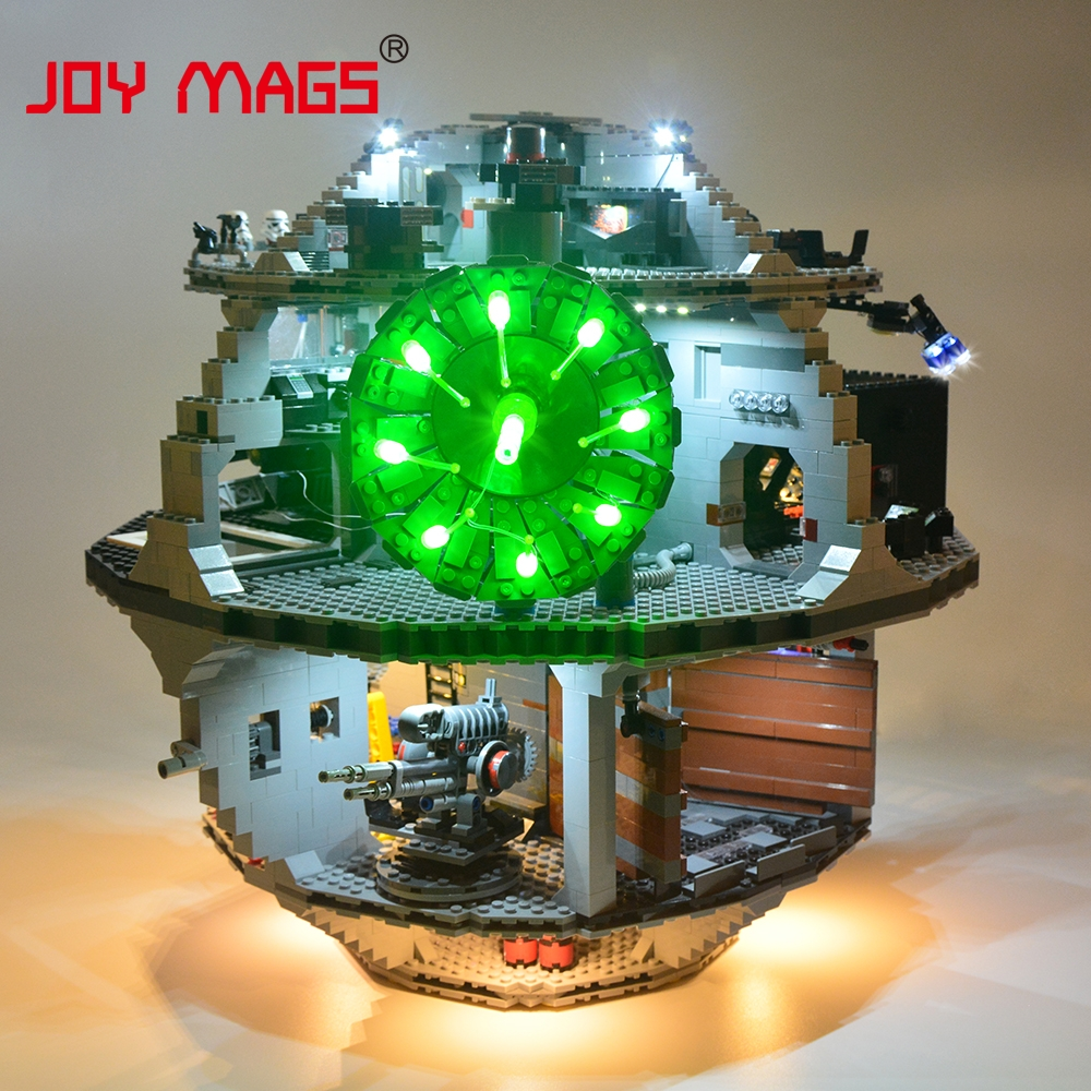 JOY MAGS Led Light Kit For Death Star Light Set Compatible With 10188 /10143/75159 And 05035/05026/05063