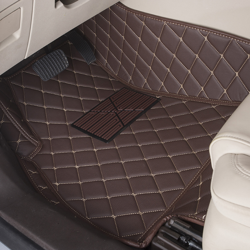 Customize Car Floor Mats Specially Customzied Carpets Auto Foot Rugs Environmental Black Brown Beige Pink Purple In From Automobiles