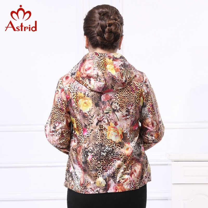 Astrid 2019 Frauen mit kapuze Mantel Britischen Stil Schlank Mantel Weiblichen Frühling Herbst Oberbekleidung Graben Mantel Für Frauen Große Größe AS5009