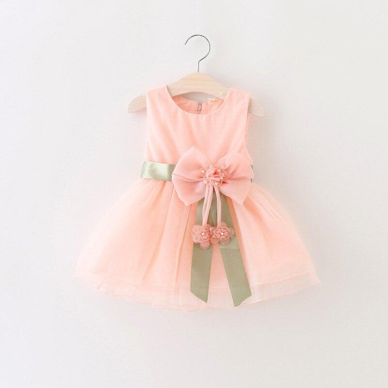 2017 Summer Baby Girl Dress Newborn Cotton Princess Dress ...