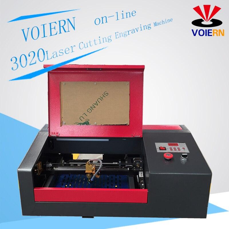 Bateau gratuit à Moscou! WR3020 laser gravure et découpe machine laser graveur laser coupe-zone de travail 300*200mm 40 w