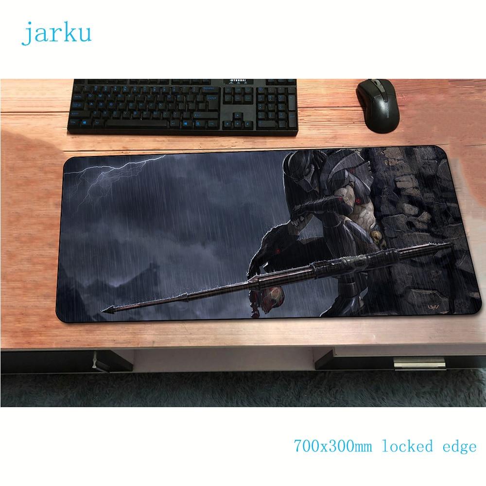 Jarku Alien Vs Predator 700x300x2mm Natural Rubber Gamer Mice Mause Mat Anime Esports Print Large Locked Game Gaming Mouse Pad