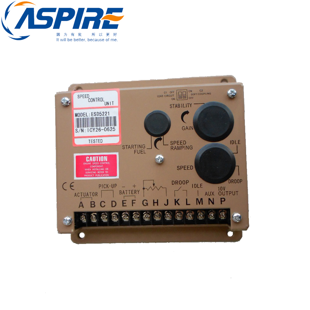 Free Shipping Electronic Speed Governor ESD5221 Generator Speed Control ESD5221Free Shipping Electronic Speed Governor ESD5221 Generator Speed Control ESD5221