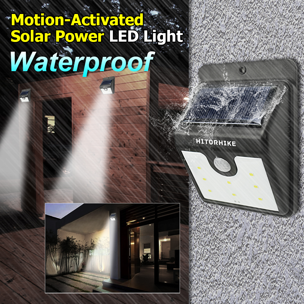 Motion-Actirated Solar Power LED Light 6