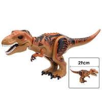 Jurassic Bricks Bausteine Dinosaurier Indominus Rex Tyrannosaurier T-Rex Lernen Kinder Geschenk Beste Spielzeug
